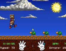 Mario Teaches Typing screenshot
