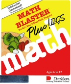 Math Blaster Plus! box cover
