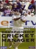 Michael Vaughan's Championship Cricket Manager box cover