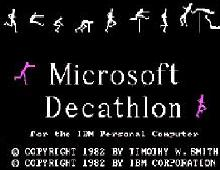 Microsoft Decathlon screenshot