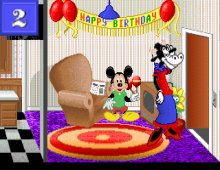 Mickey's 123: The Big Surprise Party screenshot