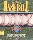 Micro League Baseball: The Manager's Challenge box cover