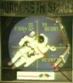 Murder in Space box cover