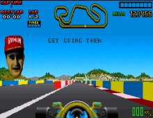Nigel Mansell's World Championship screenshot