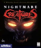 Nightmare Creatures box cover