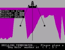 Oil Barons (Epyx) screenshot