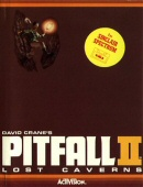 Pitfall II: Lost Caverns box cover