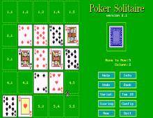 Poker Solitaire screenshot