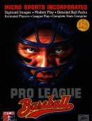 Pro League Baseball box cover