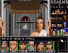 Realms of Arkania Trilogy, The screenshot