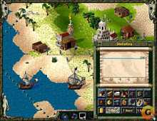 Settlers II Gold Edition, The screenshot