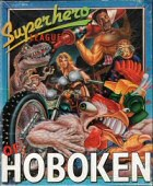 Superhero League of Hoboken box cover