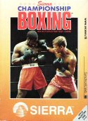 Sierra Championship Boxing box cover