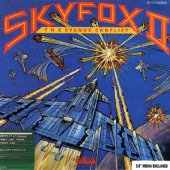 Skyfox II: The Cygnus Conflict box cover