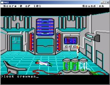 Space Quest 0: Replicated screenshot