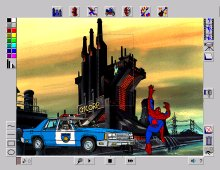 Spider-Man Cartoon Maker screenshot