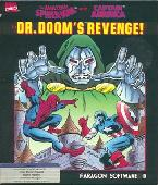 Spider-Man and Captain America in: Dr. Doom's Revenge box cover
