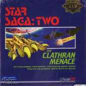 Star Saga: Two: The Clathran Menace box cover
