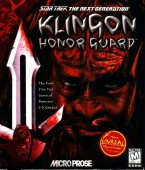 Star Trek TNG: Klingon Honor Guard box cover