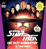 Star Trek TNG: A Final Unity box cover