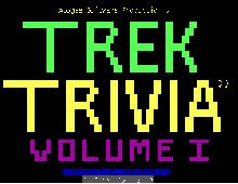 Star Trek: The Trivia Game screenshot