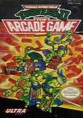 Teenage Mutant Ninja Turtles 2: The Arcade Game box cover