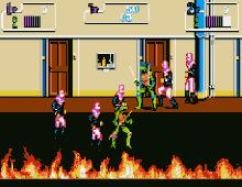 Teenage Mutant Ninja Turtles 2: The Arcade Game screenshot
