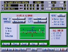 Tom Landry Strategy Football screenshot