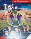Time Riders in American History box cover