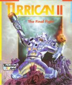 Turrican II box cover