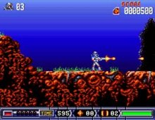 Turrican II screenshot