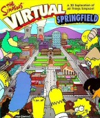 Simpsons: Virtual Springfield, The box cover