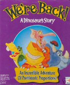 We're Back: A Dinosaur's Story box cover