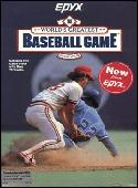 World's Greatest Baseball Game, The box cover