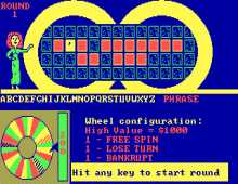 Wheel of Fortune 2nd Edition screenshot