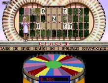 Wheel of Fortune 3rd Edition screenshot