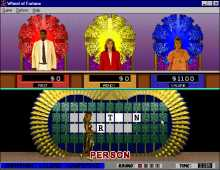 Wheel of Fortune Deluxe screenshot