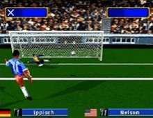 SEGA Worldwide Soccer screenshot