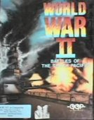 World War 2: Battles of South Pacific box cover