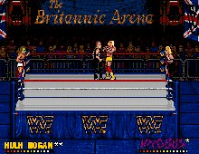 WWF European Rampage screenshot