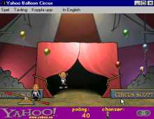 Yahoo! Balloon Circus screenshot