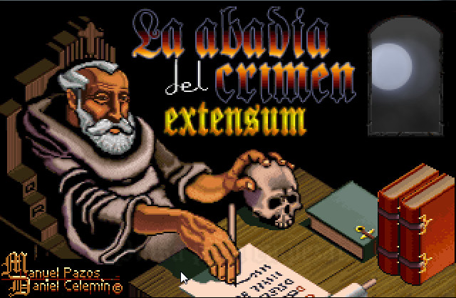 Abbey of Crime Extensum, The box cover