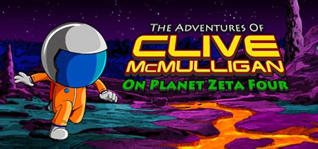 The Adventures of Clive McMulligan on Planet Zeta Four box cover