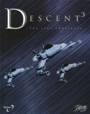 Descent 3 box cover